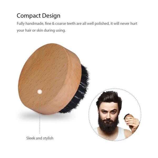 Man-beard-OEM-logo-wooden-bristle-round (1)